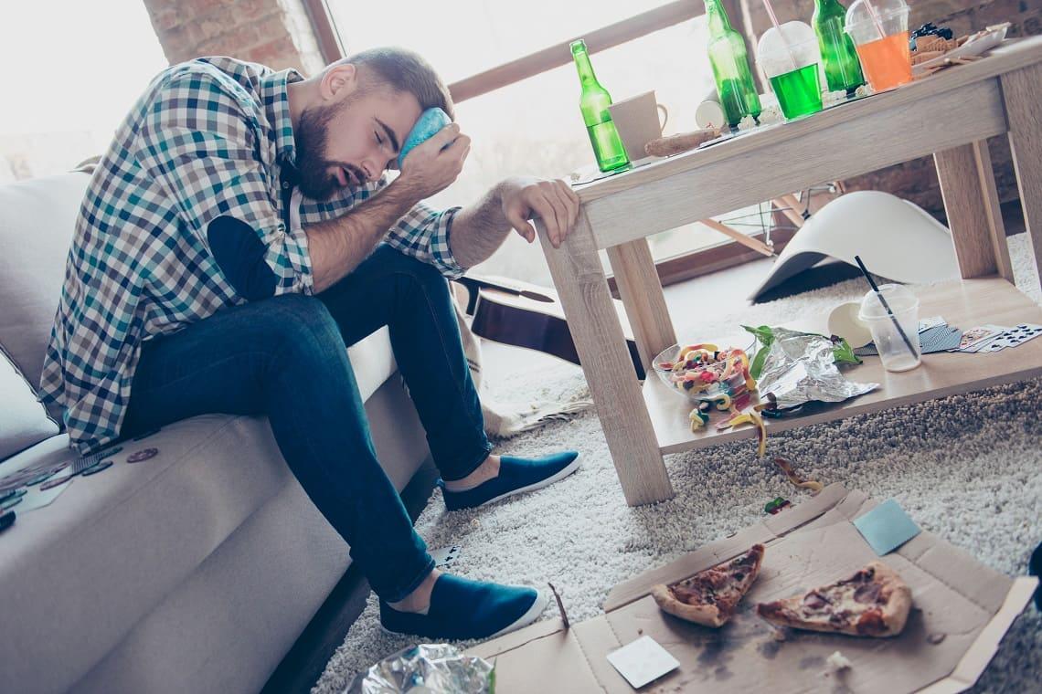 Что делать если после алкоголя тошнит